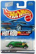 2000 Hot Wheels #08 Hot Rod Magazine '33 Ford Roadster rzr wheels full crd