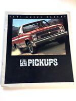 1984 Chevrolet Silverado Pickup Truck 16-page  Original Dealer Sales Brochure