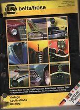 1998 NAPA BELTS/HOSE DEALER CATALOG-IMPORT AND DOMESTIC CARS & TRUCKS-996 PAGES