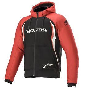 Alpinestars Chrome Sport Honda Men's Hoodie Hooded Jacket Aramid With Safety