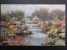 Hampshire SOUTHSEA Fountain & Rock Garden c1950's by J. Salmon 4277