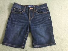 Girl's Old Navy Denim Bermuda Shorts - Girl 8 Regular (US Size) / UK 8 - 9 Years