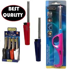 Gas Oven BBQ Camping Gas Lighter Refillable SAFETY Flame Lock Candle*lightr_tu