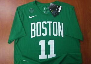 Nike NBA Boston Celtics Basketball Kyrie Irving Dri-Fit Athletic Cut Shirt L NWT