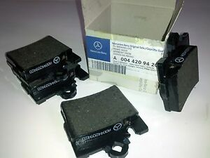 Mercedes-Benz Brake Pad Set Brake Shoe Rear w220, c215, w215, A 004 420 94 20