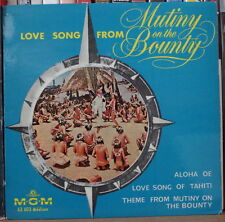 "LOVE SONG FROM MUTINY ON THE BOUNTY ALOHA OE OST 45t 7"" US PRESS EP"