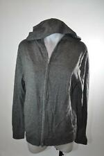 Nordstrom Theory Bisley Sweater Zip Up Hoodie Night Grey Gray Mens Size Small S