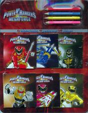 Power Rangers Megaforce coloring books RARE UNUSED