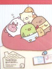 "San-X Our Dream Home Sumikko Gurashi ""Things in the Corner"" Mini Memo Pad (Sofa)"