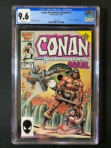 Conan the Barbarian Annual #11 CGC 9.6 (1986)