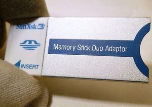 SanDisk 20-90-00125 Memory Duo Card Sony Stick adapter Worldwide