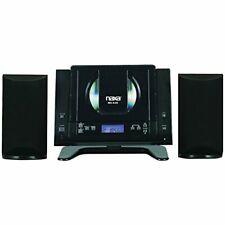 Bluetooth Mini Compact Wall Shelf Home Stereo Cd Player Micro System Am/Fm Radio