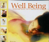 Well Being - Relaxing Music For A Balanced Life - 5CD Box Set - MINT