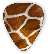 10 X GIRAFFE SKIN ~ GUITAR PICKS ~ PLECTRUMS  *Printed Both Sides*