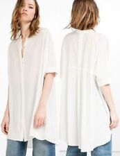Zara Shirt Dresses for Women with Embroidered
