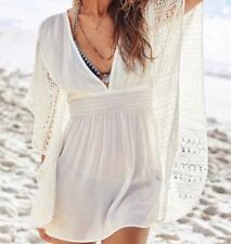 new  Victoria's Secret  Bikini Plunge Caftan Swimsuit Cover Up L large