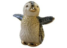 More details for de rosa baby penguin figurine f306a in branded gift box