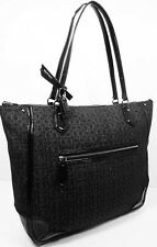 COACH 26427 POPPY Metallic Outline Black LG Glam Tote Bag Msrp $248