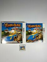 Garfield Kart NINTENDO 3DS Action / Adventure  Complete With Manual Tested Work
