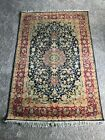 100% silk rug in excellent condition never used