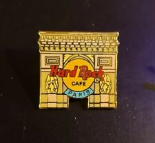 Hard Rock Cafe Pin Paris - Arc de Triomphe with Logo  - (#7299) - 2000