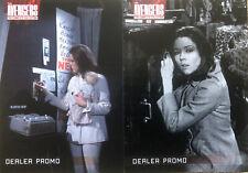 Complete Avengers Series 2 Dealer Promo Cards Jw1 & Jw2 Unstoppable Cards