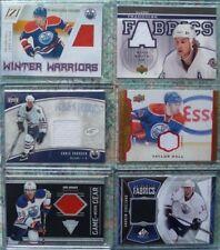 Edmonton Oilers Game-Used Jersey Lot of (15) Taylor Hall Smyth Gagner Pronger ++