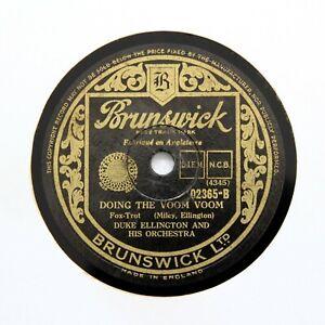 "DUKE ELLINGTON & HIS ORCHESTRA ""Doing The Voom Voom"" BRUNSWICK 02365 [78 RPM]"