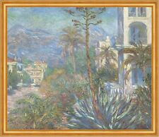 Villas at Bordighera Claude Monet Italien Ligurien Häuser Riviera B A2 01235