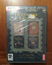 BALDUR´S GATE  4 JUEGOS EN CAJA   PC CD ROM  - Nuevo Precintado