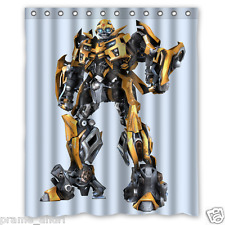 Personalized Bumblebee Transformers 60 x 72 Inch shower curtains Bath