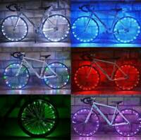 Waterproof 20 LED Bicycle Bike Cycling Rim Lights Wheel Spoke Light String AU