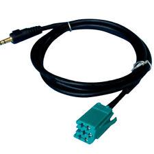 Câble AUX MP3 Auxiliaire Autoradio RENAULT 2005 - 2011 - Jack 3.5mm -UDAPTE LIST