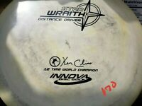 Rare Lot of 5 Innova Star Wraiths, PFN Patent #, Swirly/marbled discs!