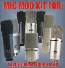 Microphone Mic Mod Kit for MXL 990 920 770 2003 2006 1006 V57M V63M V250 MCA SP1