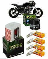 Pack Révision Filtre Huile Air Bougie HONDA CB 750 Seven Fifty RC42 1992-2003