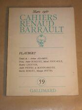 LIVRE / CAHIERS RENAUD BARRAULT / MARS 1967 / BON ETAT