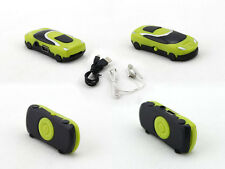 Fashion Green Mini Car Shape Gift MP3 Player For 2GB 4GB 8GB Micro SD TF Card