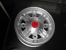 FIAT 500 F/L/R 4 CERCHI IN LEGA SILVER RUOTE 4,5 R12 TIPO ABARTH ATTACCO 4x190