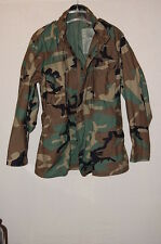Mens Cold Weather Field Woodland Camouflage Coat/Jacket Medium Long EXCELLENT!#2