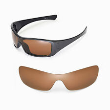 New Walleva Polarized Brown Replacement Lenses For Oakley Antix Sunglasses