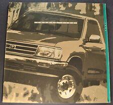 1994 Toyota T100 Pickup Truck Catalog Brochure SR5 4x4 Excellent Original 94