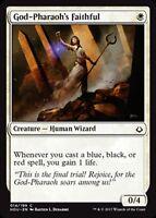 MTG Magic - (C) Hour of Devastation - 4x God-Pharaoh's Faithful x4 - NM/M