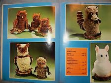 Nature's Delight Woodland Forest Animal Crafts Owls Racoon Bear Home Decor Craft