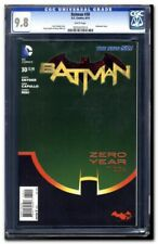 BATMAN #30 Graded CGC 9.8 Embossed Cover White Pages DC Comics