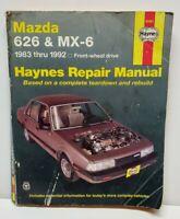 USED Mazda 626 MX-6 1983-1992 Haynes Workshop Manual Service Repair Manual 61041