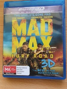Mad Max Fury Road 3d And blu ray