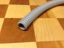 "Dental Vacuum Suction Tubing Hose Corrugated 1/2"" ID  10' Long Gray"