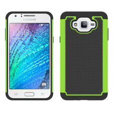 Rugged Hybrid Armor Case Shockproof Rubber Phone Cover For Samsung Galaxy J7 Neo