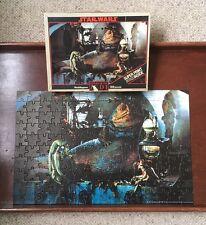 De colección Guerra de las galaxias puzzle 150 piezas Rotj 1983 100% completo Jabba the Hutt
